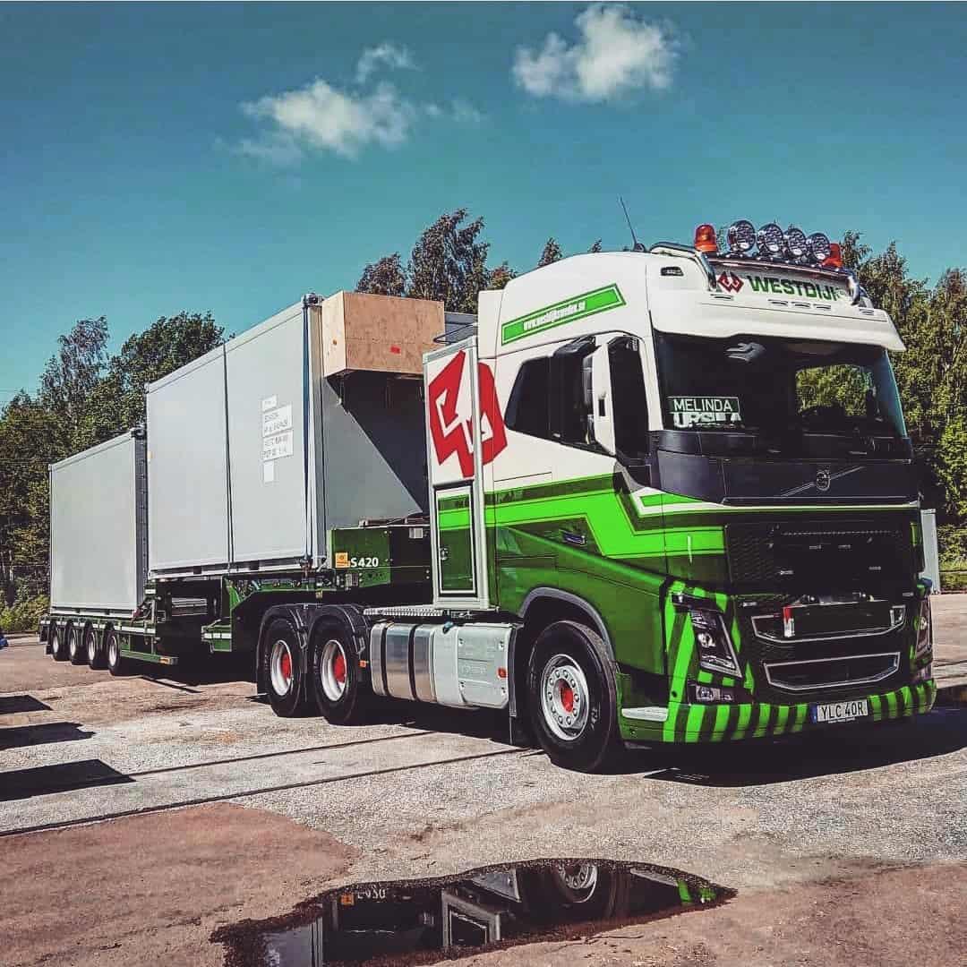 Specialtransporter Westdijk Sweden