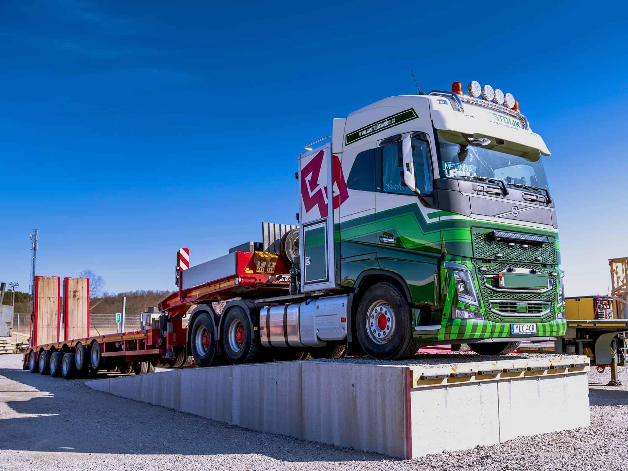 Specialtransport Westdijk Sweden